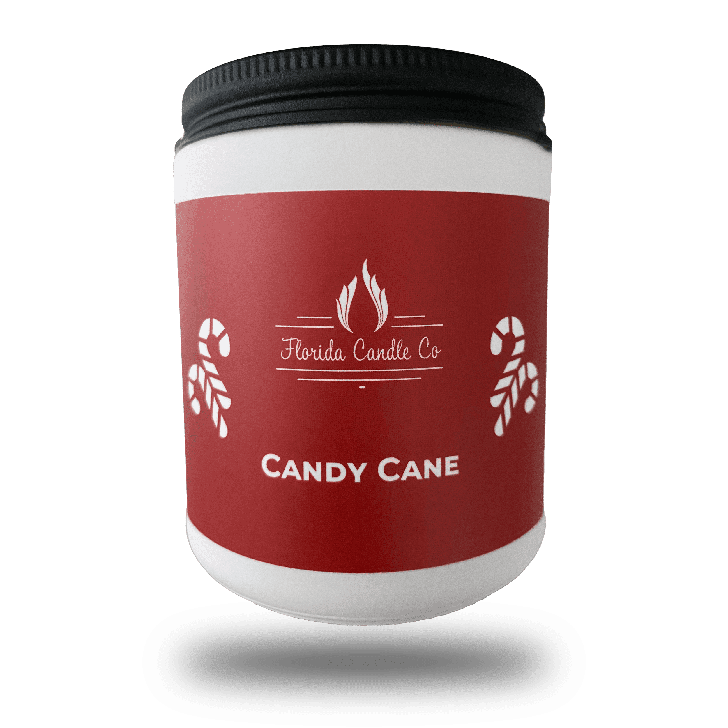 """Featured image for """"Candy Cane Christmas Candle"""""""