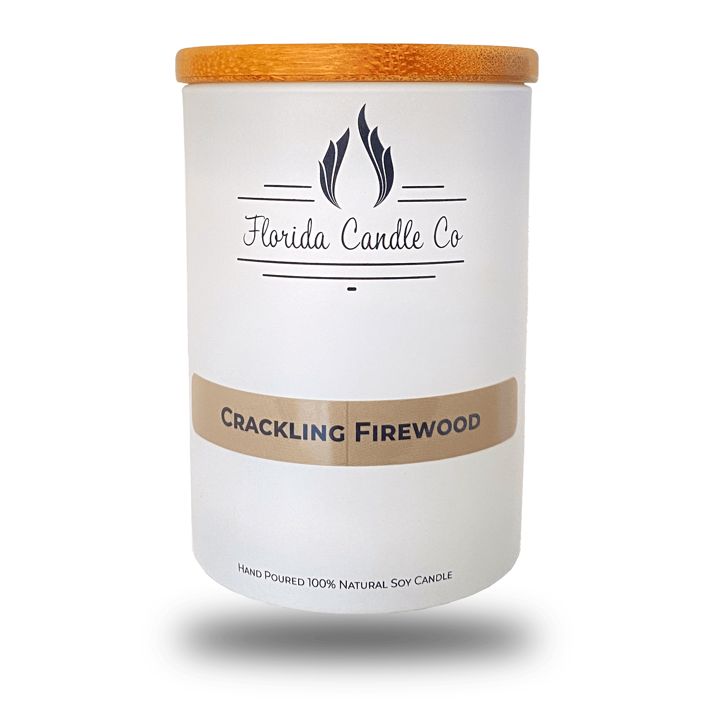 "Featured image for ""Crackling Firewood Candle"""