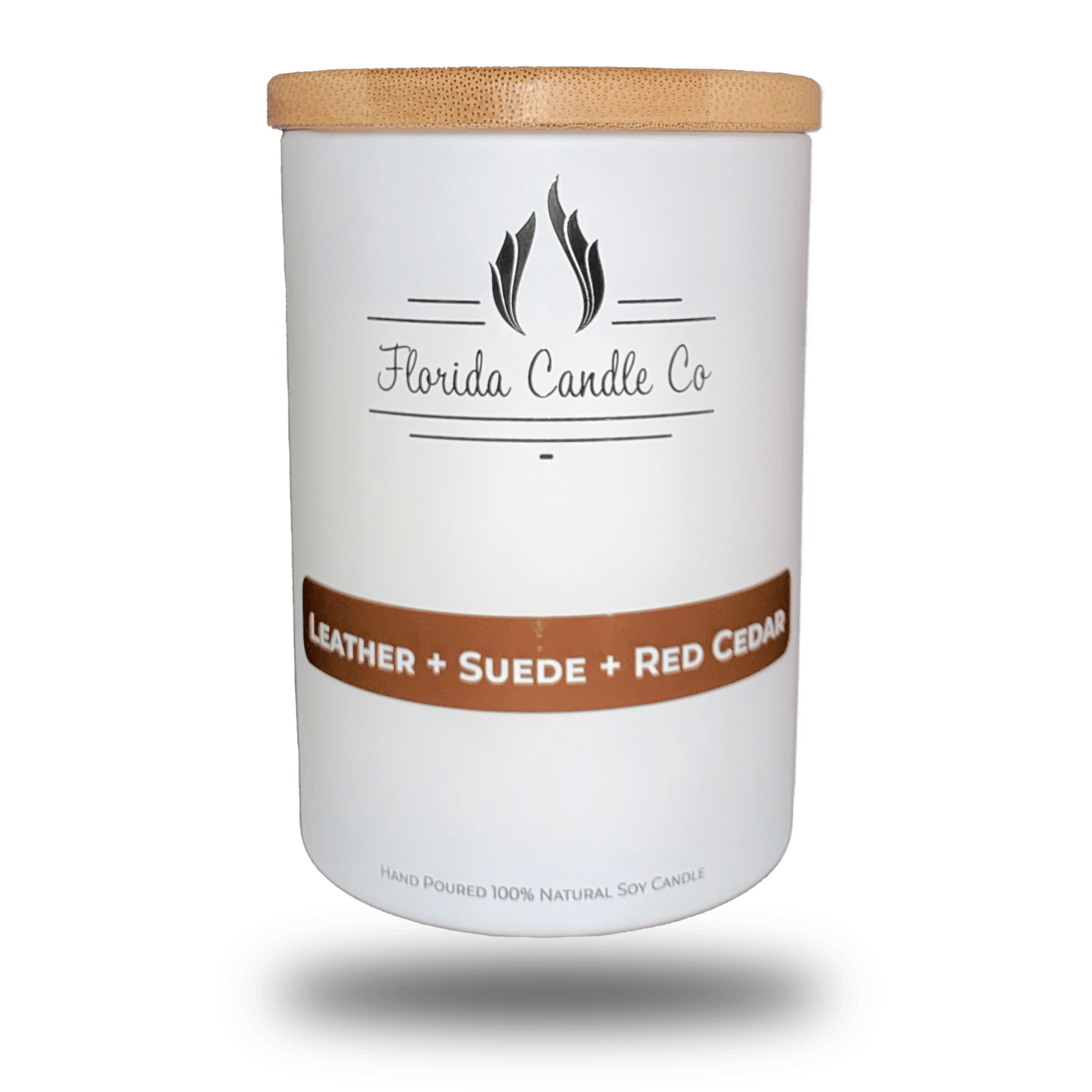 "Featured image for ""Leather + Suede + Red Cedar Candle"""