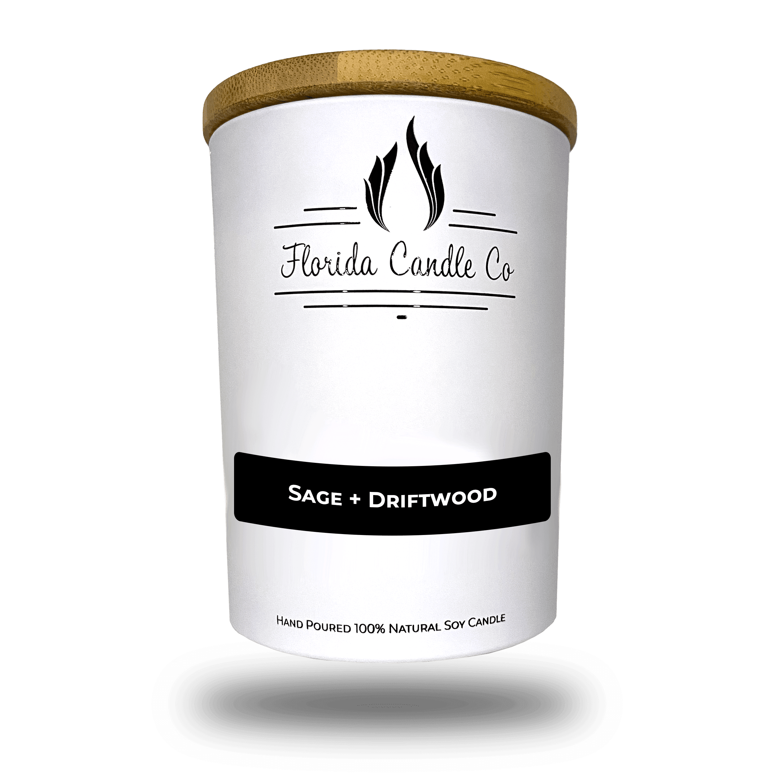 """Featured image for """"Sage + Driftwood Candle"""""""