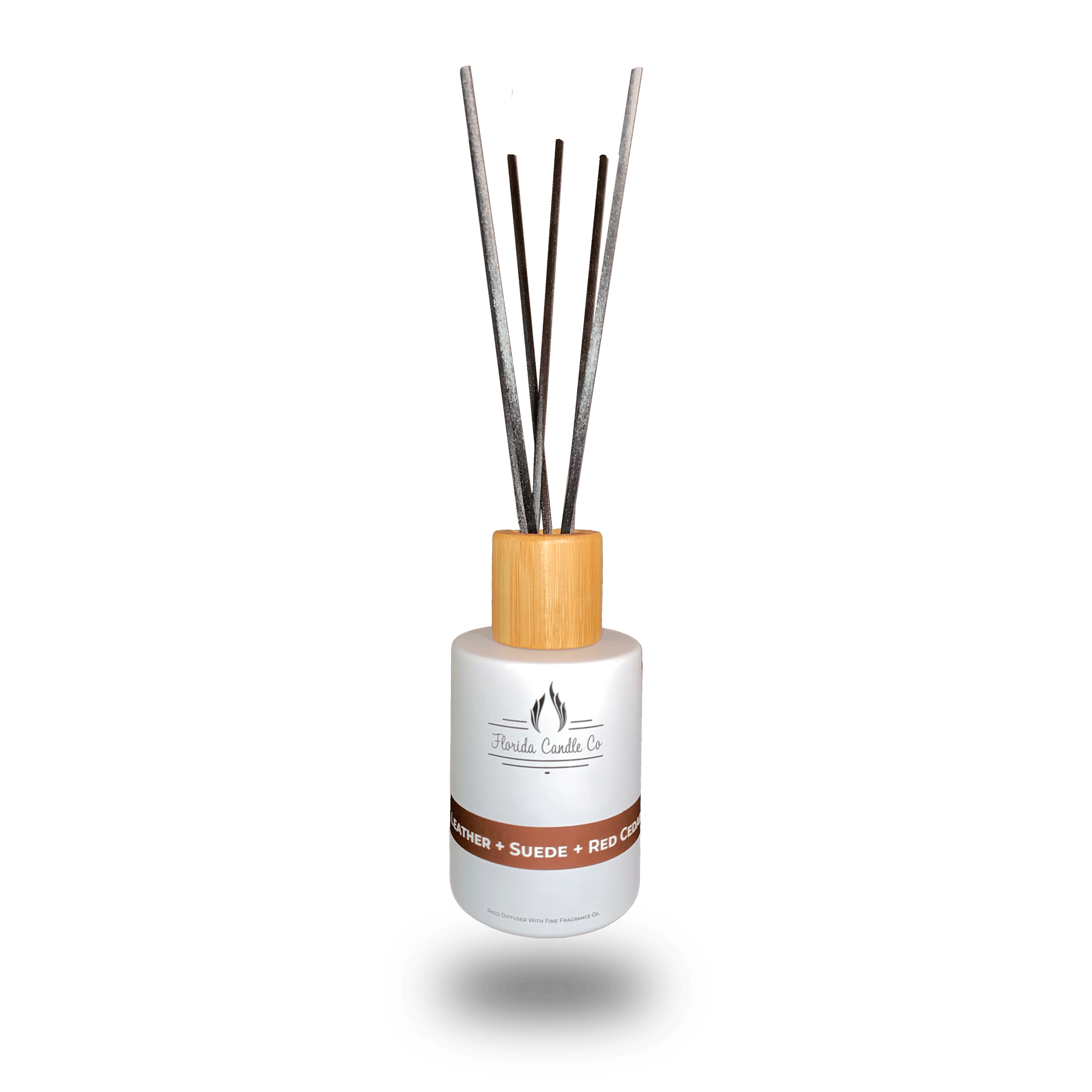 "Featured image for ""Leather + Suede + Red Cedar Reed Diffuser"""